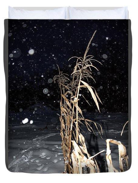 Stand Tall Duvet Cover by Annette Berglund
