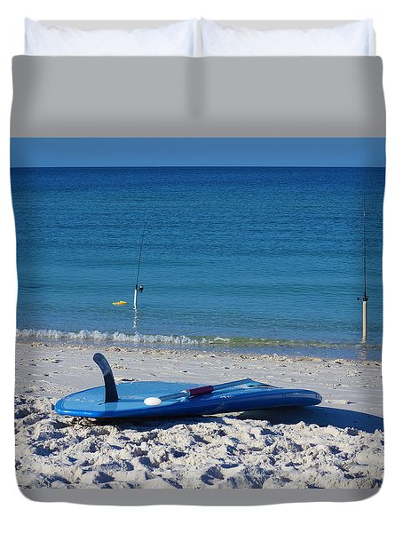 Stand Up Paddle Board Duvet Cover