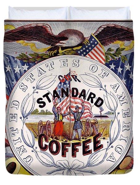 Standard Coffee Duvet Cover