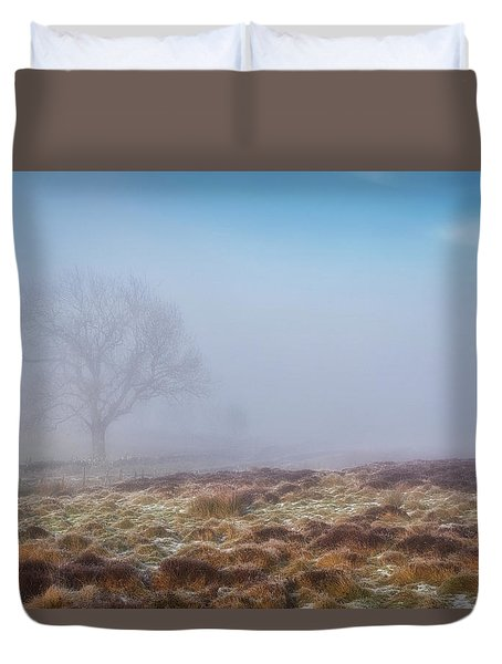 Duvet Cover featuring the photograph Standing Fiercely by Jeremy Lavender Photography