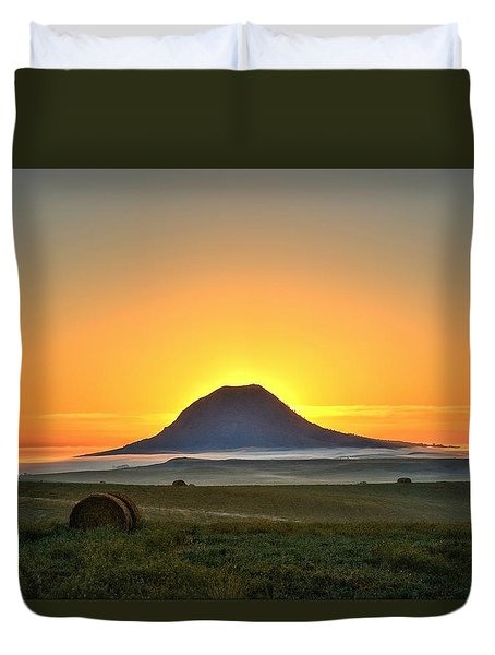Standing In The Shadow Duvet Cover