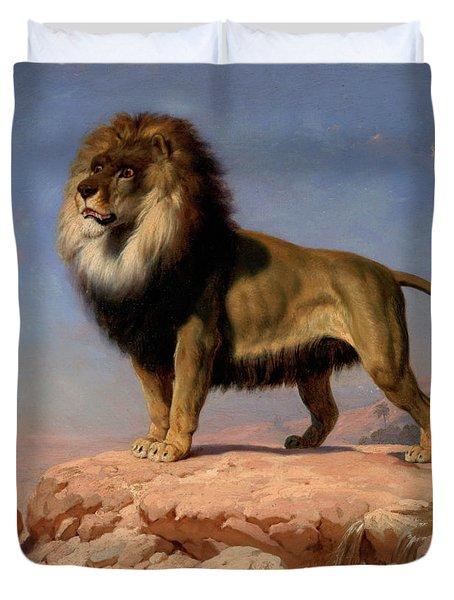 Standing Lion Duvet Cover