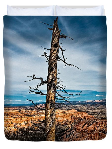 Standing Regardless Duvet Cover by Christopher Holmes