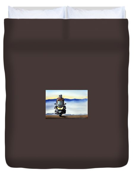 Standing Room Only Duvet Cover