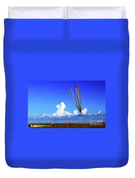 Duvet Cover featuring the photograph Standing Tall by Gary Wonning