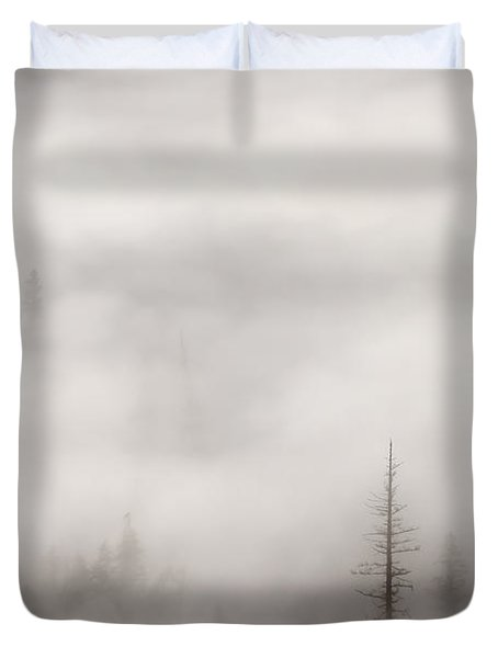 Standing Tall Duvet Cover by Mike  Dawson