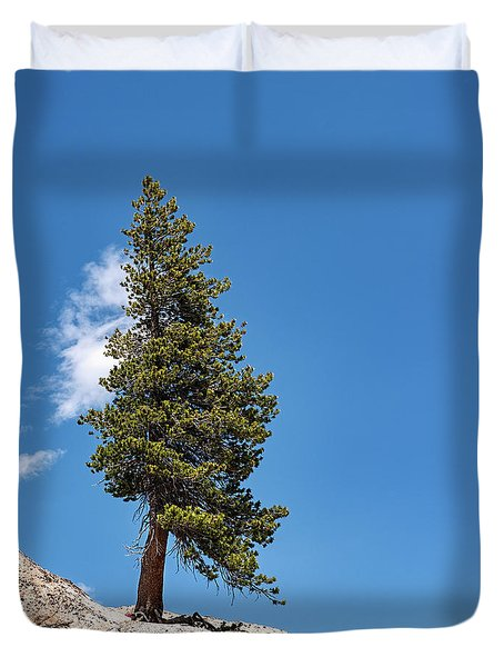 Standing Tall Duvet Cover by Sharon Seaward