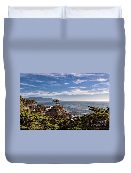Standing Watch Duvet Cover by Gina Savage