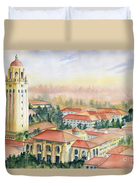 Stanford University California Duvet Cover