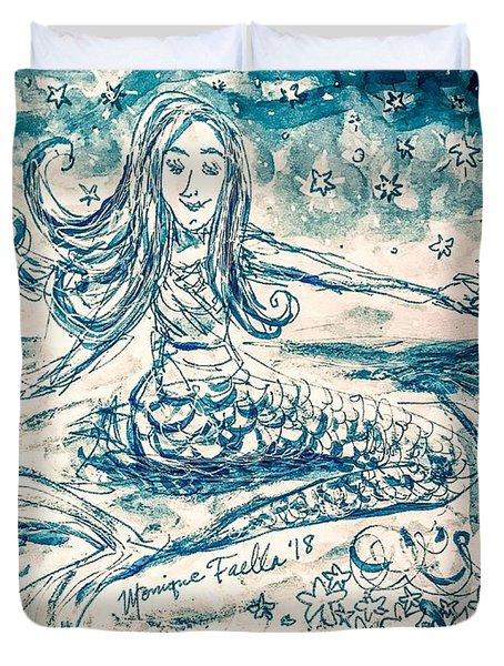Star Bearer Mermaid Duvet Cover