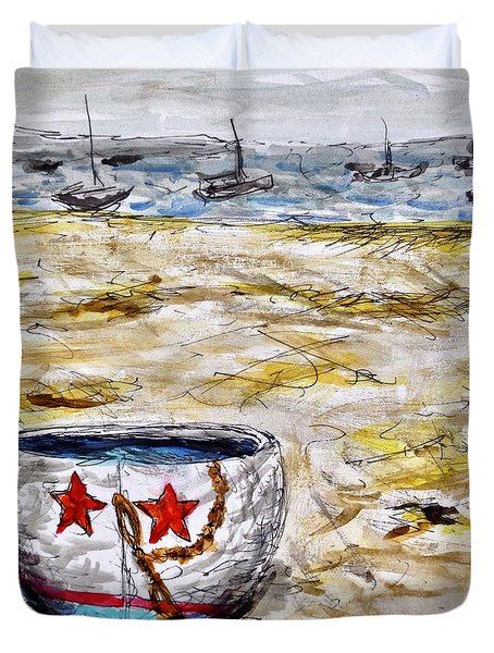 Star Boat Duvet Cover