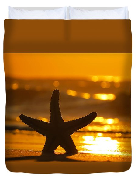 Star Bokeh Duvet Cover