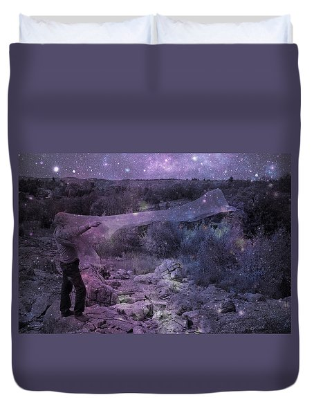 Star Catcher Duvet Cover