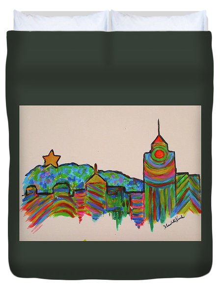 Star City Play Duvet Cover