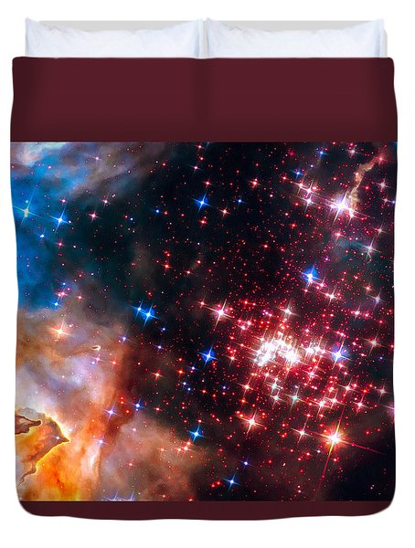 Duvet Cover featuring the photograph Star Cluster Westerlund 2 Space Image by Matthias Hauser