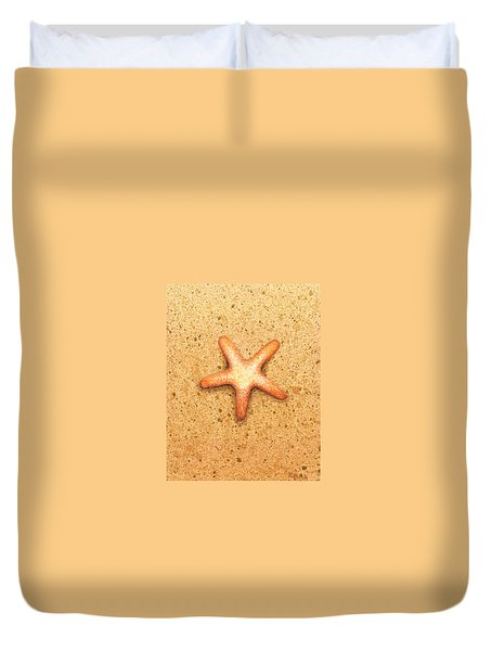Star Fish Duvet Cover by Katherine Young-Beck