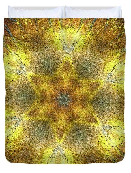 Star Kaleidoscope Duvet Cover