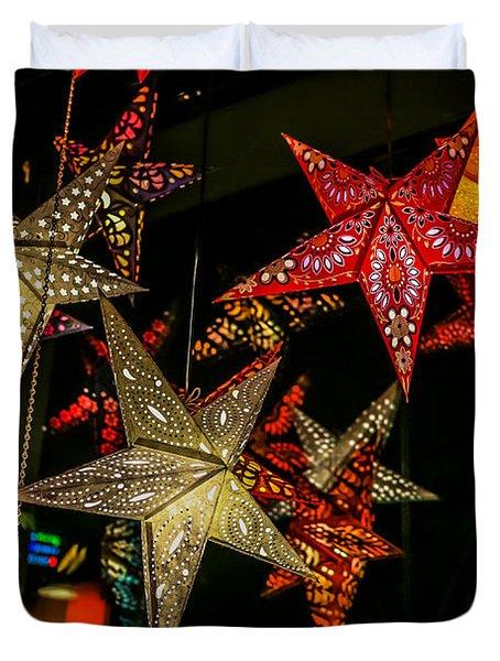 Star Lights Duvet Cover