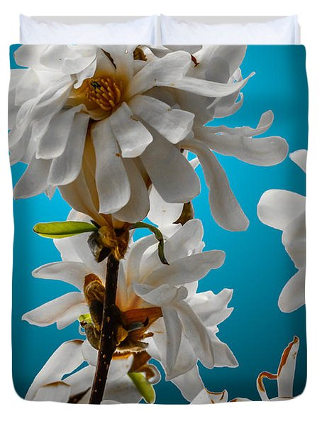 Star Magnolia Duvet Cover