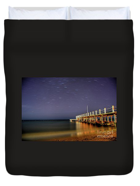 Star Melody Duvet Cover
