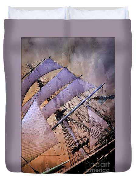 Star Of India San Diego 2 Duvet Cover