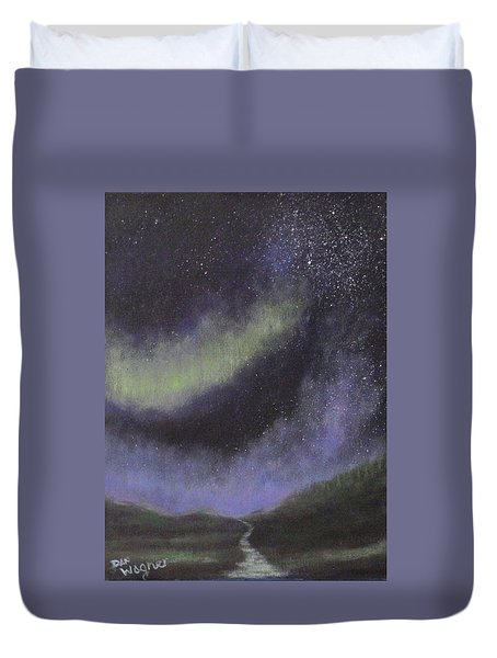 Star Path Duvet Cover by Dan Wagner