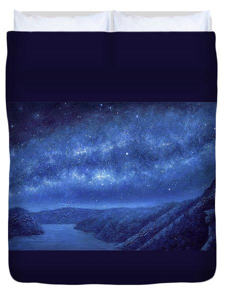 Star Path Duvet Cover