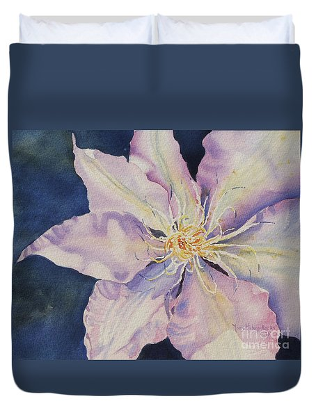 Star Shine Duvet Cover by Mary Haley-Rocks