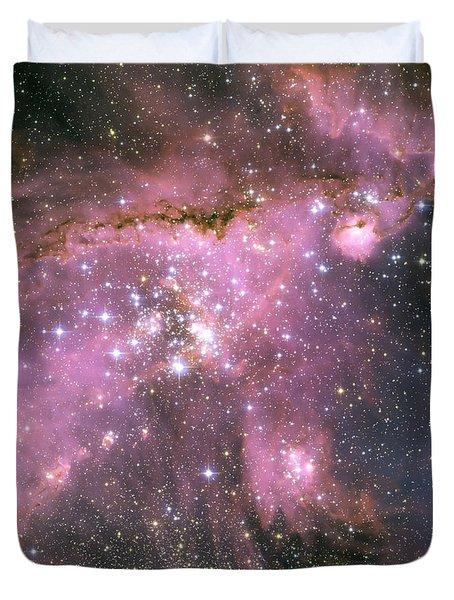 Star Shower Duvet Cover by Jennifer Rondinelli Reilly - Fine Art Photography