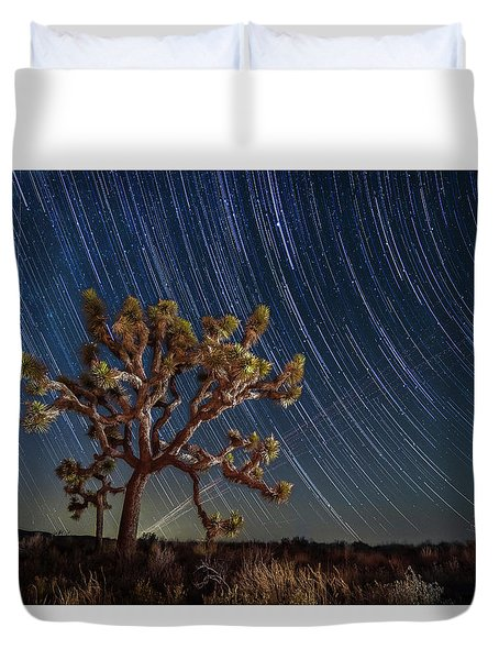 Star Spun Duvet Cover