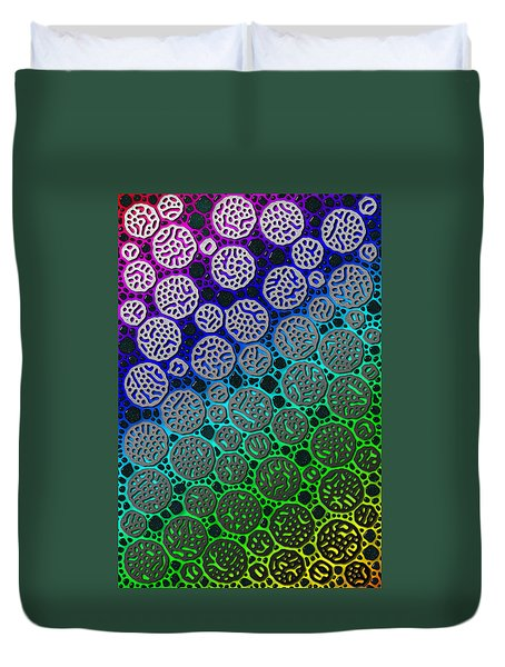 Star Stones Duvet Cover