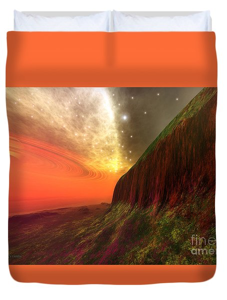 Star Stuff Duvet Cover by Corey Ford