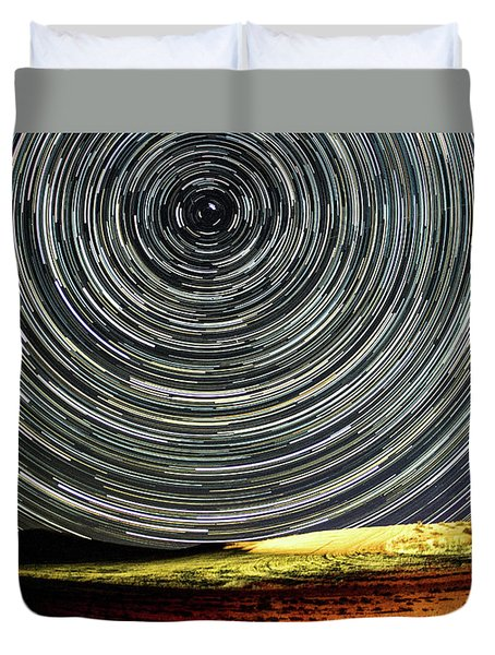 Star Trail Duvet Cover