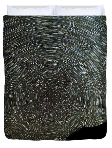 Star Trails Duvet Cover