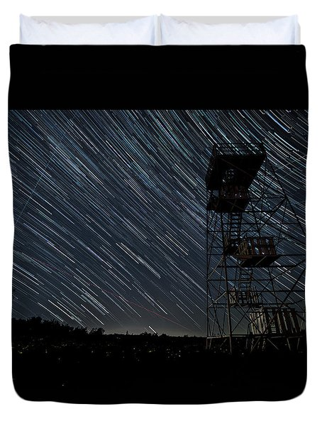Star Trails Duvet Cover