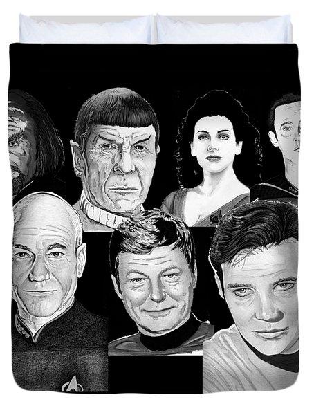 Star Trek Crew Duvet Cover