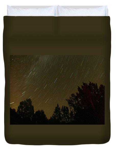 Star Tripping Duvet Cover by David S Reynolds