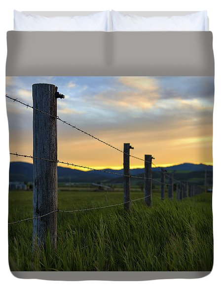 Star Valley Duvet Cover