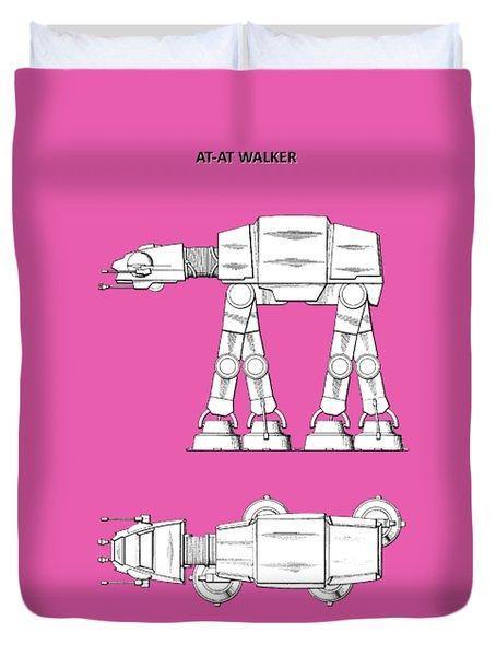 Star Wars - At-at Patent Duvet Cover