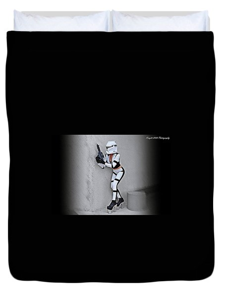Star Wars By Knight 2000 Photography - Armor Duvet Cover