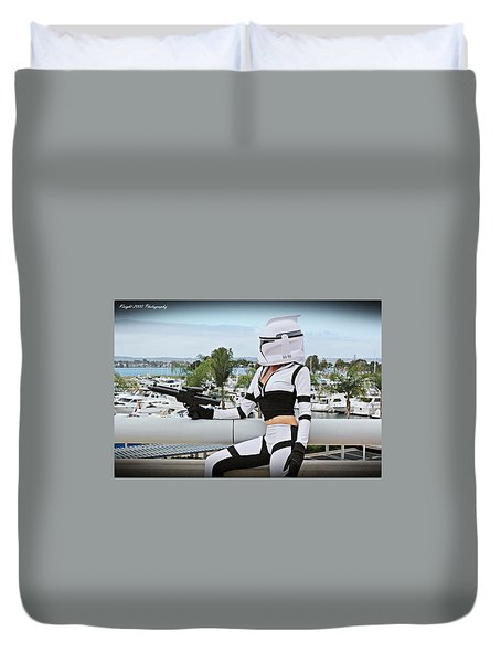 Star Wars By Knight 2000 Photography - Clone Wars Duvet Cover