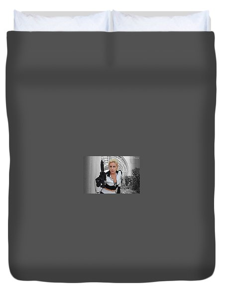 Star Wars By Knight 2000 Photography - Lookout Duvet Cover