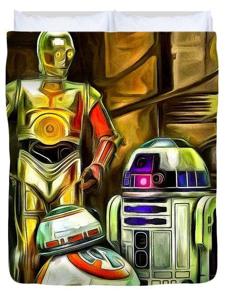 Star Wars Droid Family Duvet Cover