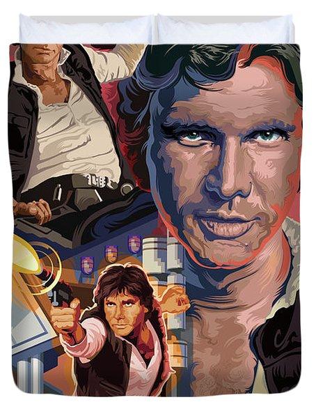 Star Wars Han Solo On Tatooine Duvet Cover