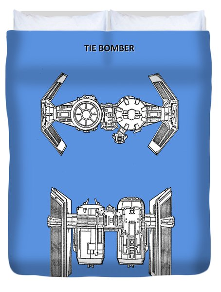 Star Wars - Spaceship Patent Duvet Cover