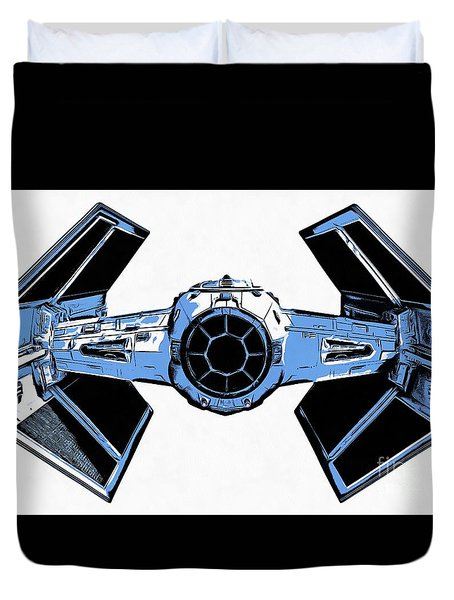 Star Wars Tie Fighter Advanced X1 Duvet Cover