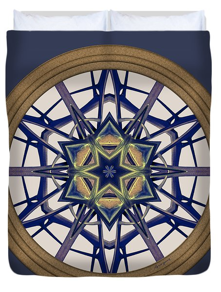 Star Window I Duvet Cover
