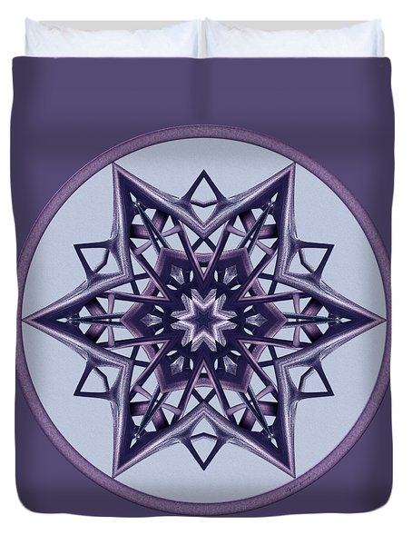 Star Window II Duvet Cover