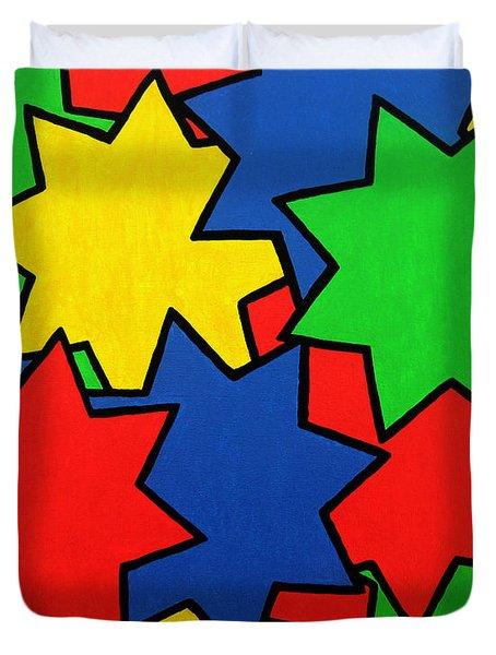 Starburst Duvet Cover by Oliver Johnston