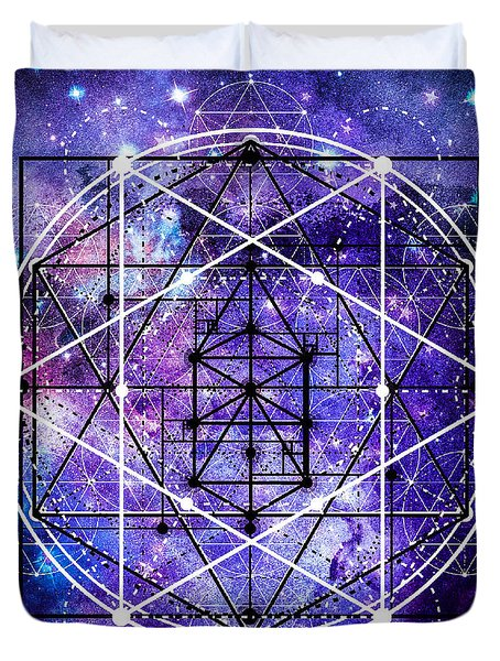 Duvet Cover featuring the digital art Stardust by Bee-Bee Deigner